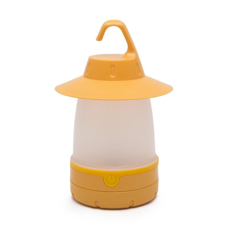 Akasztható kemping lámpa - Sárga