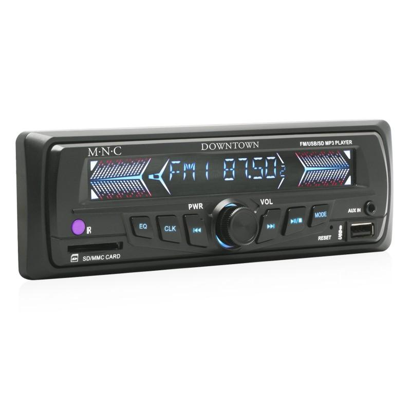 M.N.C MP3-as autórádió USB/SD/MMC/AUX bemenette...