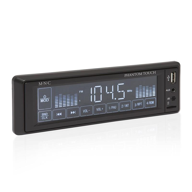 M.N.C MP3-as autórádió (USB/MSD/MMC/AUX) érint...