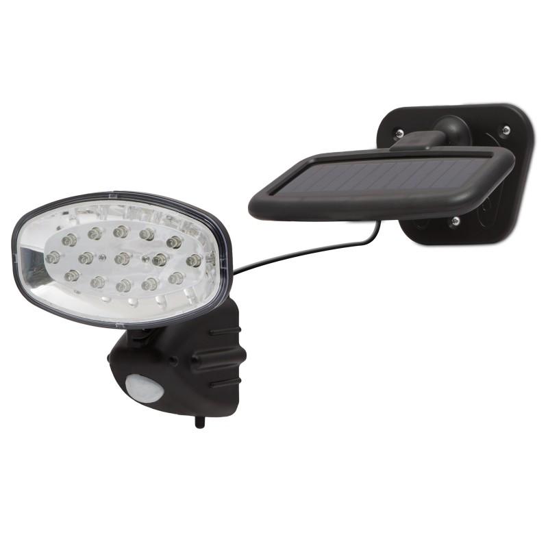 LED-es szolár kültéri lámpa - mozgás és fén...