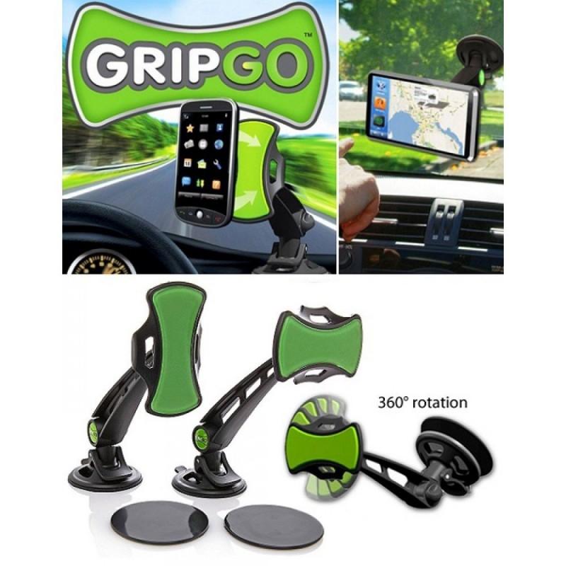 GripGo autós telefon GPS és táblagép tartó