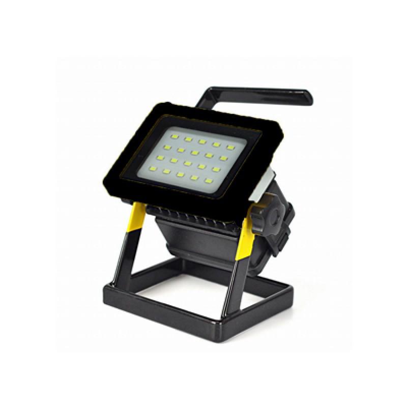 10 W Akkumulátoros hordozható LED reflektor