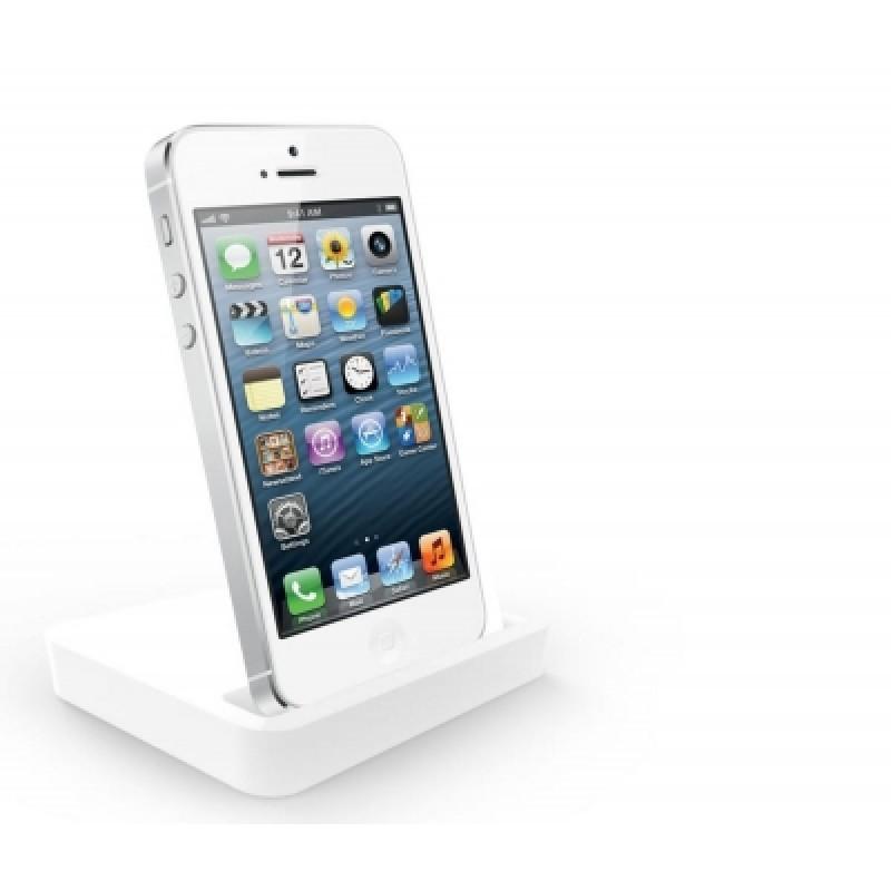 iPhone 5 és micro USB konnektorba dugható dokkol...