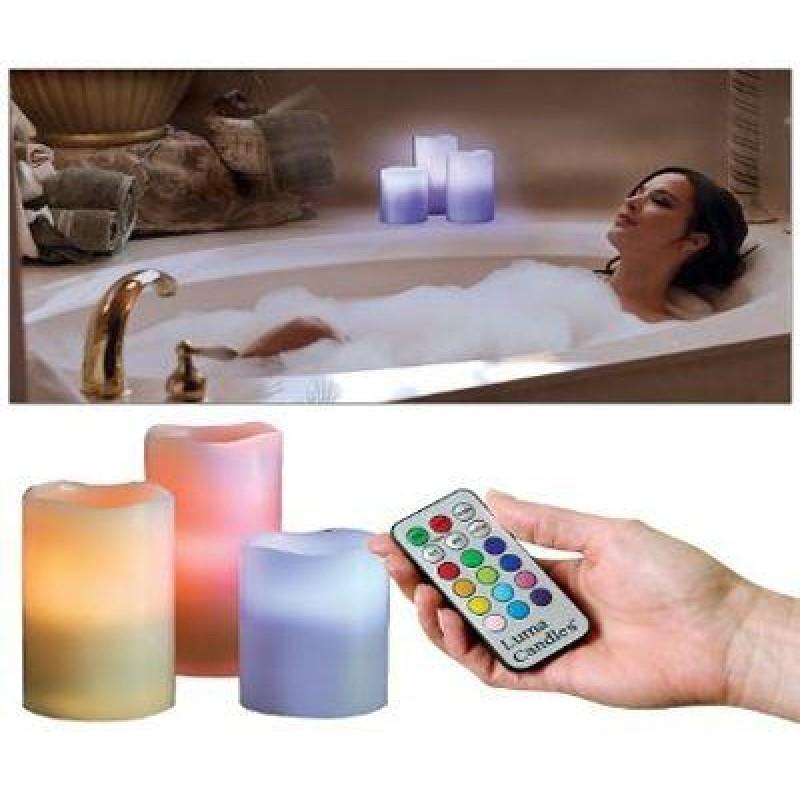 Színválasztós LED-es gyertya