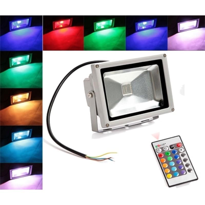 10 W Színválasztós LED reflektor