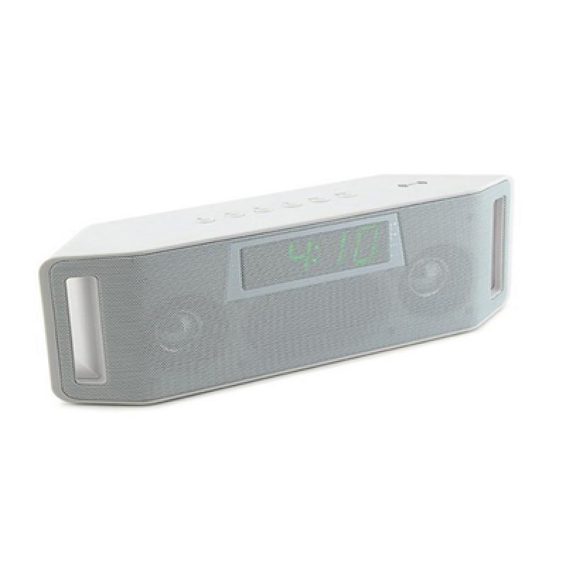 Bluetooth hangszóró rádiós ébresztőóra funk...