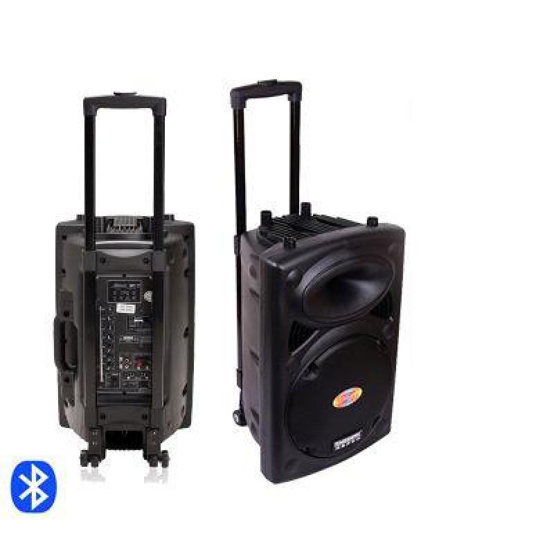 600 W Bluetooth hordozható KARAOKE hangfal