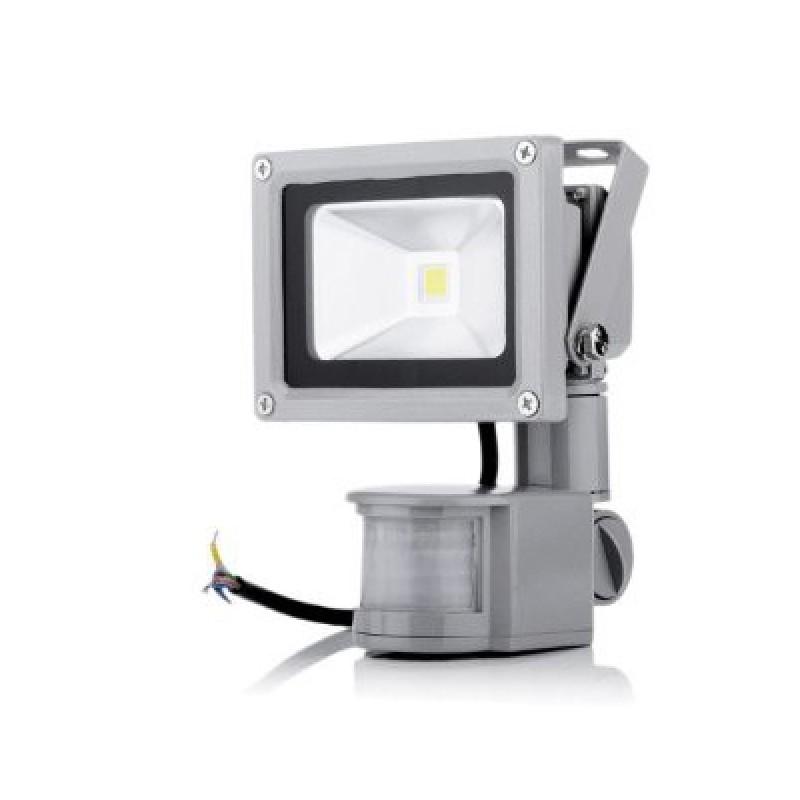 10 W Mozgásérzékelős LED reflektor fényvető